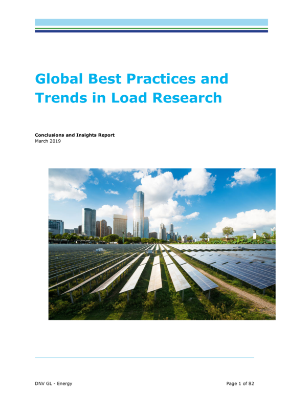 Global Best Practices and Trends in Load Research