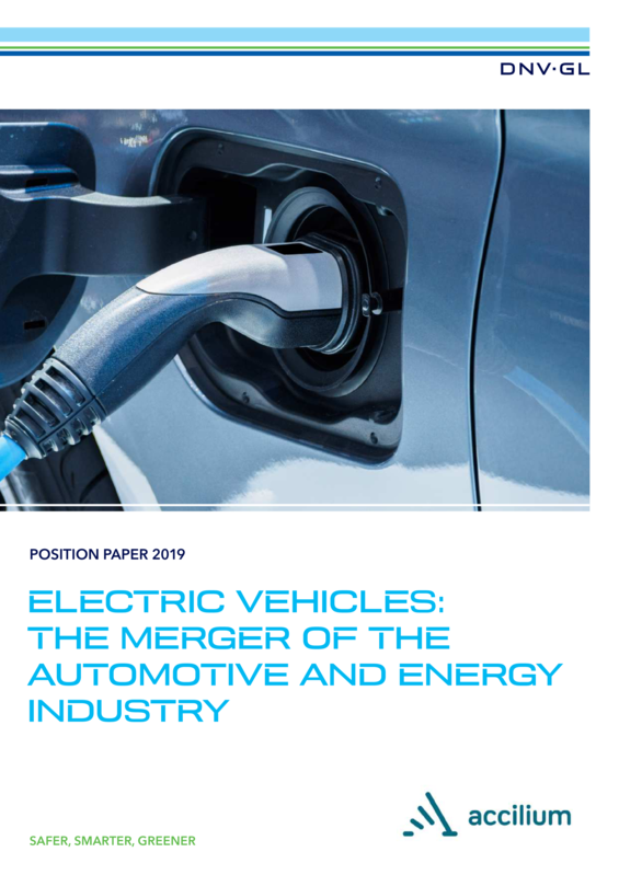 Electric vehicles: the merger of the automotive and energy industry