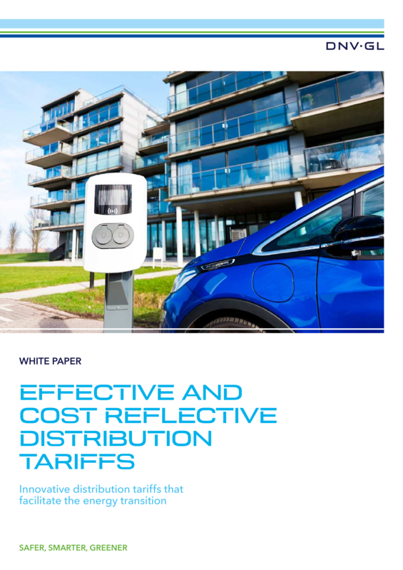 Effective and cost reflective distribution tariffs