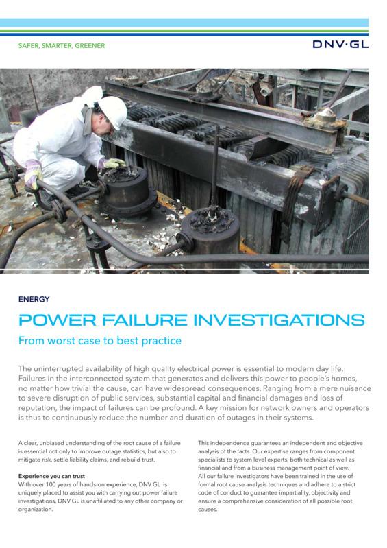 Power Failure Investigations Singapore