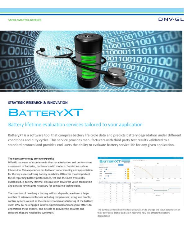 Battery XT