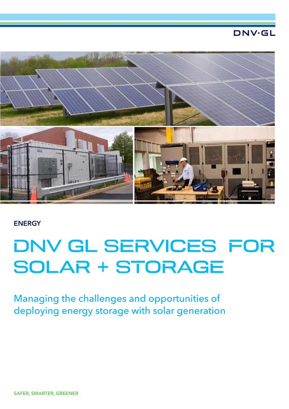 Solar and storage services