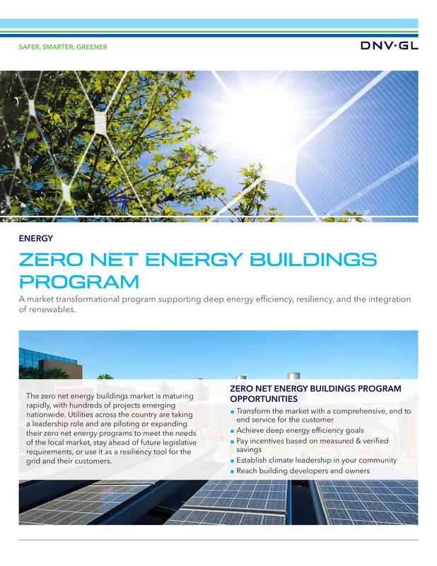Zero Net Energy Buildings Program