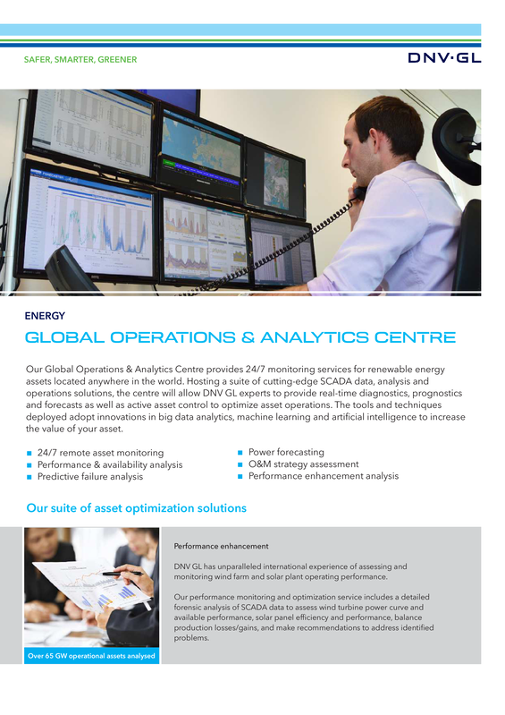 Global Operations & Analytics Centre